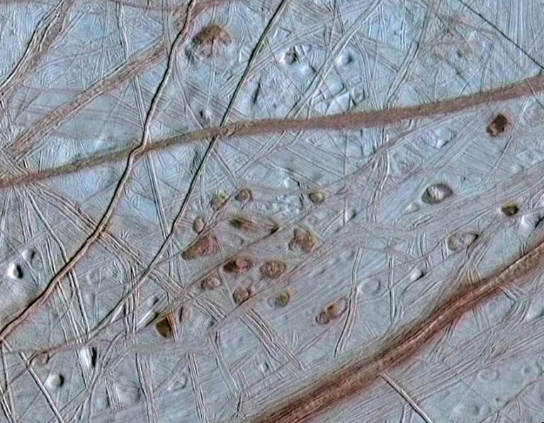 Europa Oberfläche