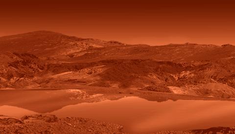 Titan Oberfläche